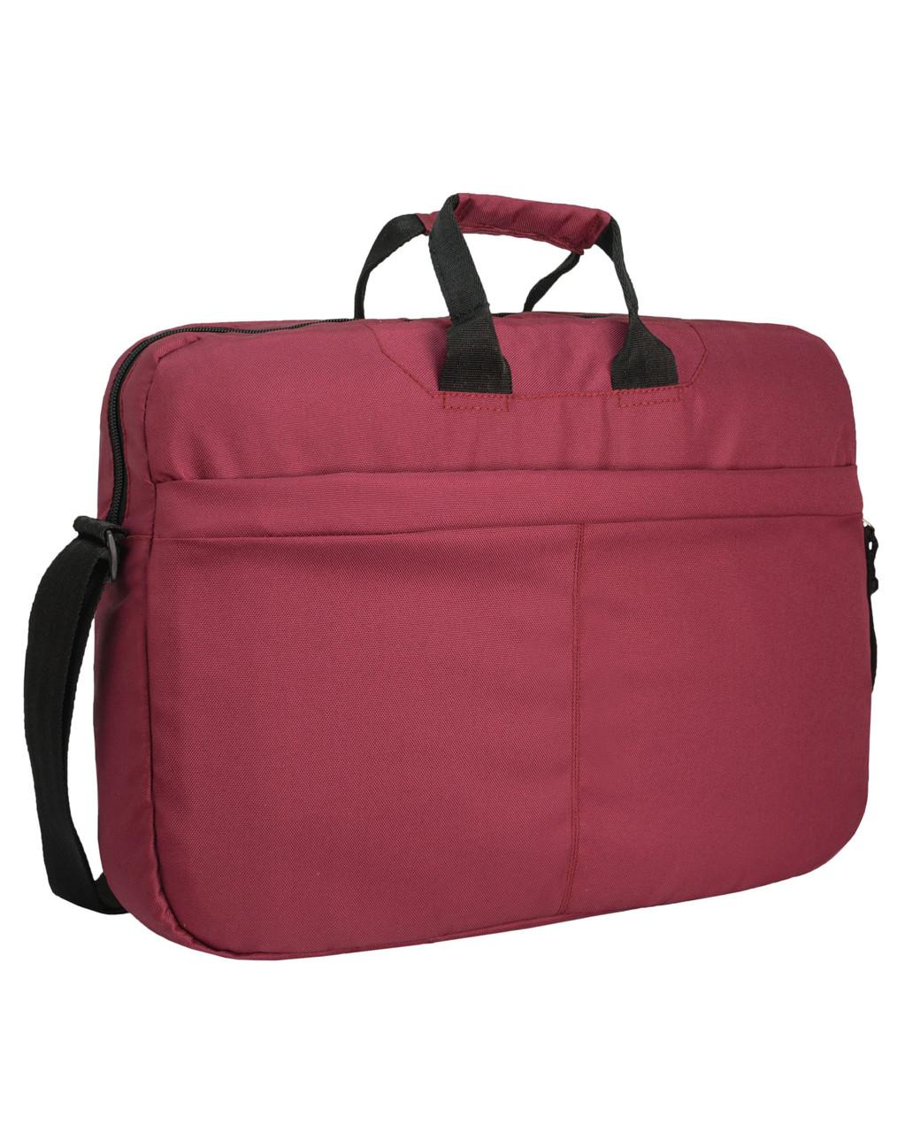 Сумка для ноутбука Surikat бордовая (мужская сумка, женская сумка, под