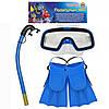 Набор для плавания, ласты очки М0024