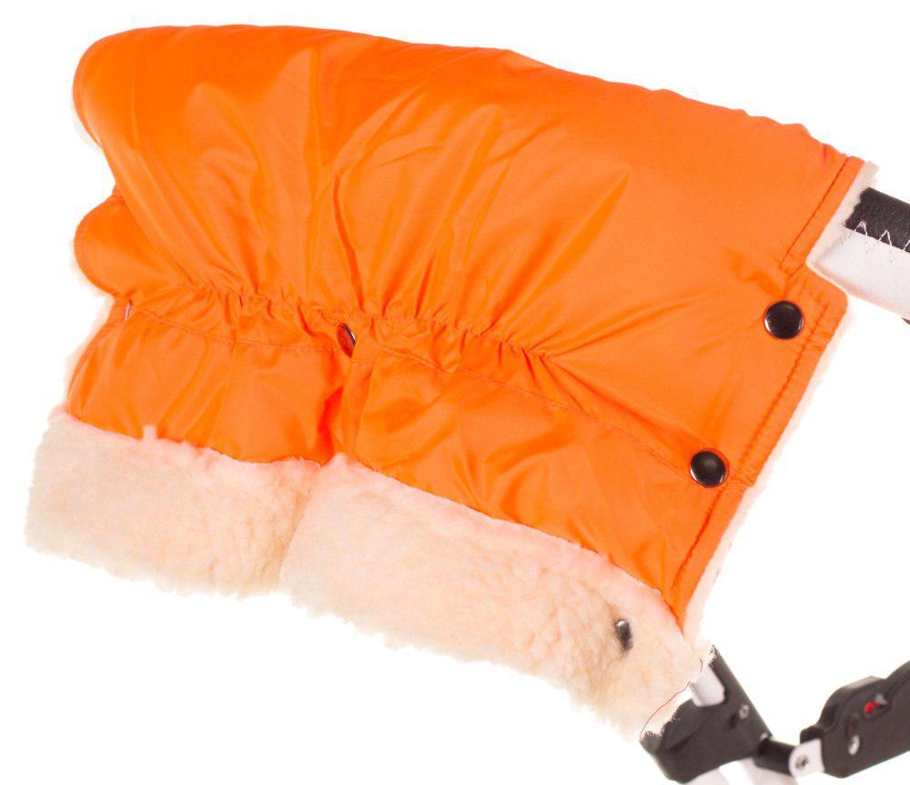 Муфта Умка M01 (ткань-плащевка) для рук на коляску  оранжевый