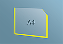 Карман А4 плоский, фото 5