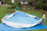 Как хранить надувные бассейны в зимнюю пору года?