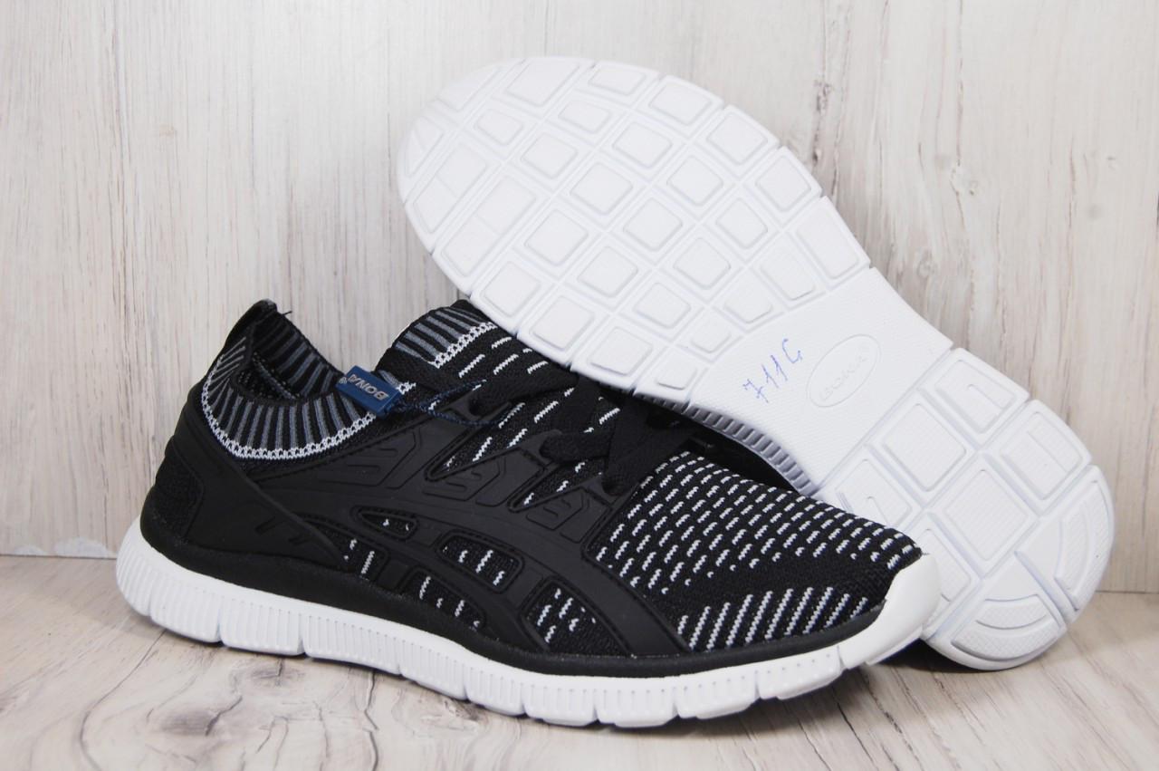 BONA дышащие беговые мужские кроссовки сетка