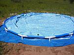 Правильная установка каркасного бассейна