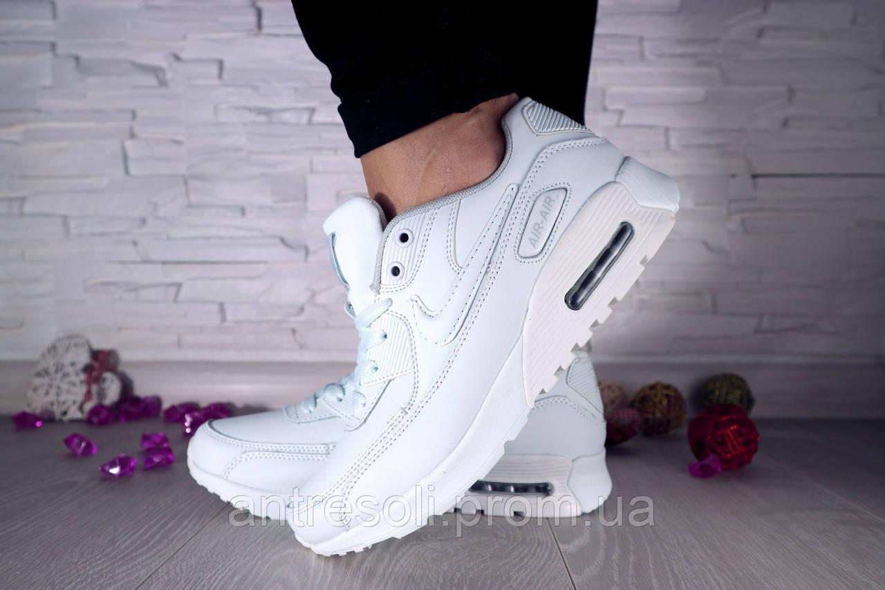 Женские Кроссовки Nike Белые 10199
