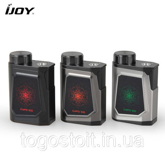 Бокс мод Ijoy CAPO 100+21700 Battery ORiGiNAL