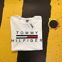 Футболка Томми, белая Tommy Hilfiger