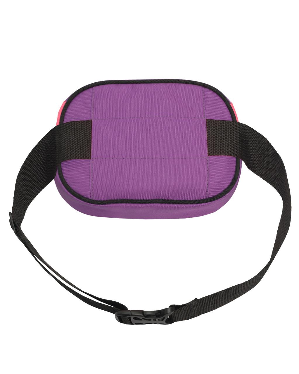 519f1973a76d ... Поясная сумка бананка Kokos Surikat розовый/фиолетовый (сумка на пояс, 3