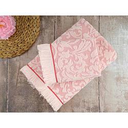 Набор полотенец Irya - Royal розовое 50*90 (2 шт)