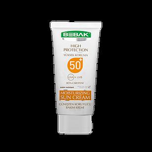 Сонцезахисний крем Sora Cosmetics Bebak SPF 50+ 75 мл (4315001)