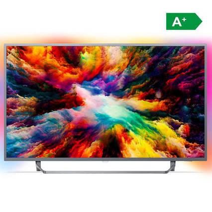 Телевизор Philips 49PUS7503/12 (PPI1700Гц, 4K Smart Android, Quad Core, P5 Perfect Picture, DVB-С/Т2/S2, 45Вт), фото 2