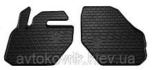 Резиновые передние коврики в салон Volvo XC60 II 2017- (STINGRAY)