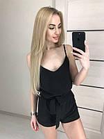 Женский комбинезон летний с шортами