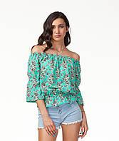 Яркая летняя женская блуза. К088, фото 1
