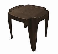 Столик пластиковый Siusi коричневый