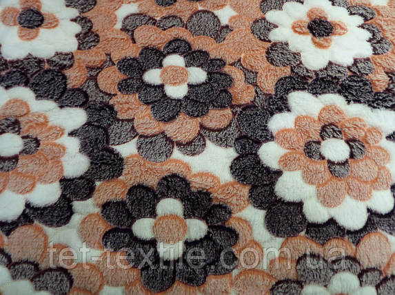 Плед из бамбукового волокна Wellsoft Цветы 2 (200х220), фото 2