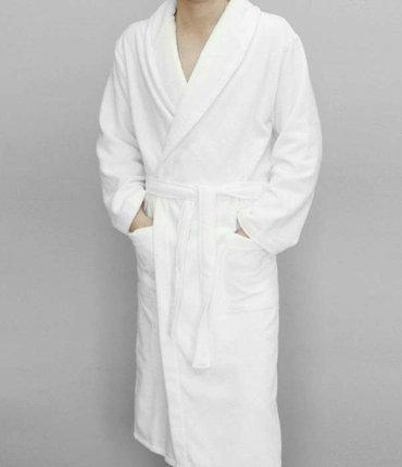 Банный махровый халат XL, Saunapro