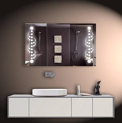 Зеркало LED со светодиодной подсветкой ver-3083 1000х600 мм, фото 2
