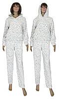 Пижама женская махровая 03627-3 Снежный Барсик, р.р.44-50