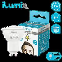 Светодиодная лампа Ilumia 7Вт, цоколь GU10, 4000К (нейтральный белый), 600Лм (082)