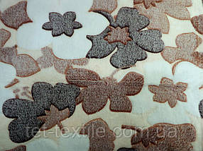 Плед из бамбукового волокна Wellsoft Цветы 3 (200х220)