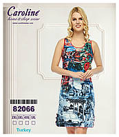 """Женская сорочка для сна  """"Caroline"""" р-р 2XL 3XL 4 XL 5XL"""