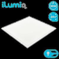 Светодиодный встраиваемый светильник Ilumia 36Вт, 595x595x15мм, 4000К (нейтральный белый), 3100Лм (094)