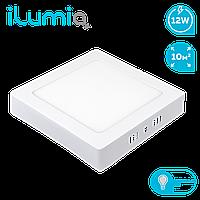Светодиодный накладной светильник Ilumia 12Вт, 170мм, 4000К (нейтральный белый), 960Лм (038)