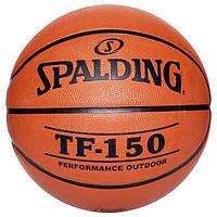 Мяч баскетбольный SPАLDING TF-150 (резина, бутил) № 5