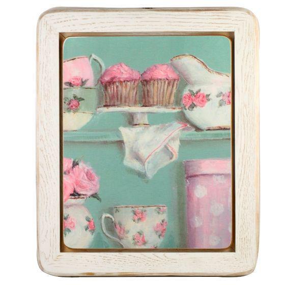 """Картина """"Розовый винтаж"""" 30х35"""