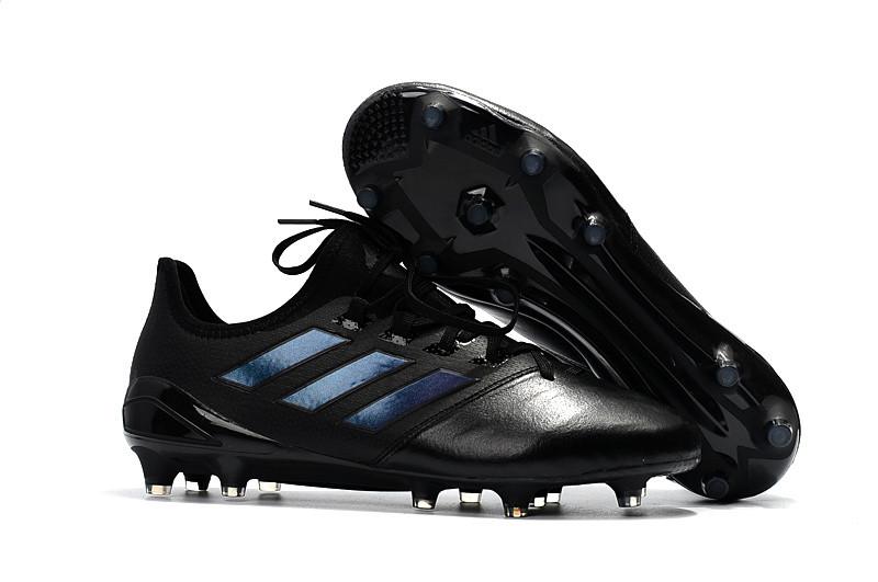 Бутсы 2018 Adidas ACE 17.1 Leather FG black
