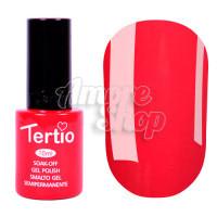 Гель-лак Tertio №004 (карминовый, эмаль), 10 мл