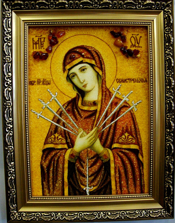 Семистрельная і-65 Икона Божией Матери