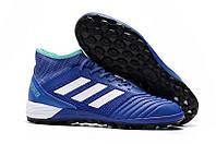 Сороконожки adidas Predator Tango 18.3 TF Blue, фото 1