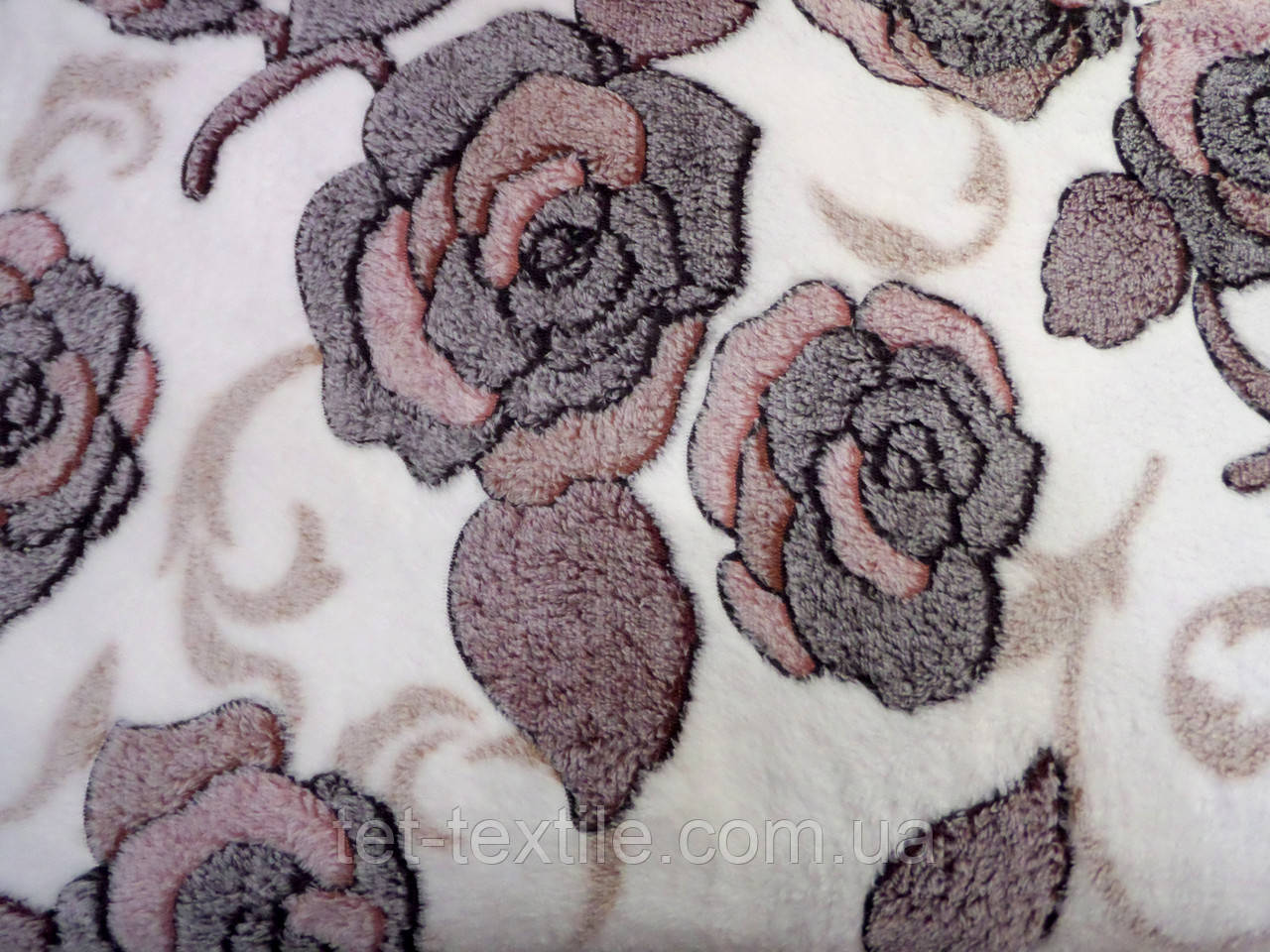 Плед из бамбукового волокна Wellsoft Розы (200х220)