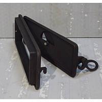 Зольные дверцы чугунные с регулятором подачи воздуха (33 х 13,5 см), фото 1