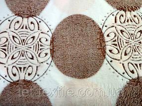 Плед из бамбукового волокна Wellsoft Круги/орнамент (200х220)
