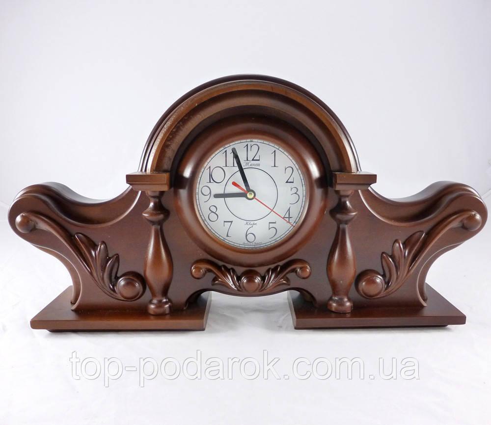 Часы деревянные Каминные