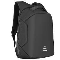 Рюкзак городской для ноутбука 15.6 антивор с USB