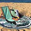 Круглое покрывало-полотенце 20025, фото 2