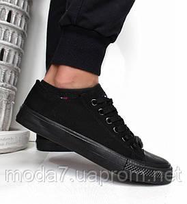 Кеды мужские черные Converse реплика