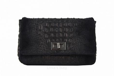 5d174f0c485b Кожаная сумочка–клатч с цепочкой Miranda, цена 1 150 грн., купить в  Черкассах — Prom.ua (ID#478441049)