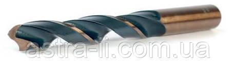Сверло по металлу Р9 (кобальт) 18,0 мм с хвостовиком 13 мм