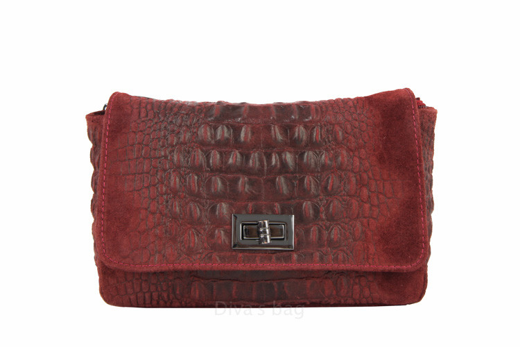 34e1e25c2e21 Кожаная сумочка–клатч с цепочкой Miranda, цена 1 150 грн., купить в ...