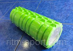 Ролик для йоги массажный 33.5 см (цвета в ассортименте)