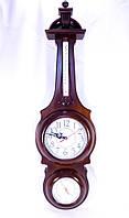 Часы настенные, барометр, термометр прямоугольный