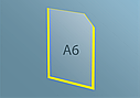 Карман А6 плоский, фото 6