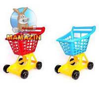 Тележка для супермаркета игрушечная
