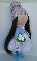 Дизайнерская текстильная кукла Алиса, ручной работы