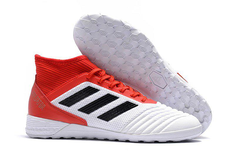 a39792d3 Сороконожки футзалки adidas Predator Tango 18.3 IN white red -  Интернет-магазин