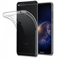 Силиконовый чехол 0,33 мм для Huawei Honor 7 Plus прозрачный